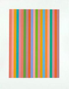 Modernism - Artist: Bridget Riley - 1960's and 70's