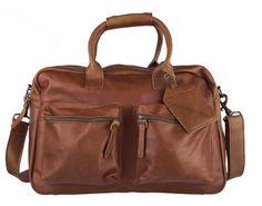 Cowboysbag Diaperbag Cognac luiertas met matje (gratis verzending)