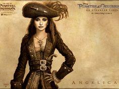 Обои Перья,девушка,крест,пираты карибского моря,карандашный рисунок,пистолет,шляпа,анжелика 1152x864 px