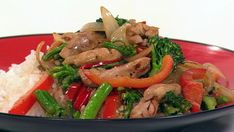Chilli lime chicken stir-fry, chicken recipe, brought to you by Australian Women's Weekly