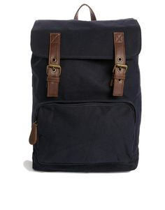 New Look | New Look Canvas Backpack at ASOS