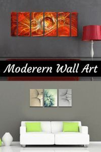 Canvas home wall art décor is trendy and popular more so  than ever.  It truly is my favorite type  of wall art as it is trendy, stylish and popular in homes across America.  Wall art is a simple and fun way to spice up  a blank wall or a sparsely decorated room.     Abstract Wall Art - Modern Canvas Wall Art