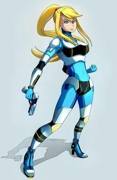 BooDestroyer89 Commission: Neo Zero Suit Samus by Kanokawa.deviantart.com on @DeviantArt