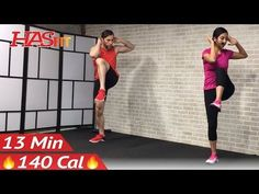 (5) 13 Min Standing Ab Workout for Women & Men at Home - Cardio Standing Abs Workout Abdominal Exercises - YouTube