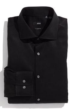 BOSS Black Sharp Fit Dress Shirt