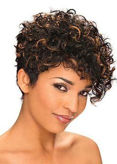 Really Short Haircuts, Haircuts For Curly Hair, Very Short Hair, Short Bob Hairstyles, Hairstyles With Bangs, American Hairstyles, Trendy Hairstyles, Prom Hairstyles, Hairstyle Short