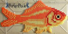 Goldfish by PerlerPixie on DeviantArt