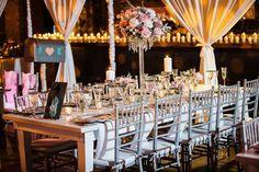 Table design for a vintage inspired wedding. Absolutely stunning! #wedding #vintagetheme #rustic #tabledesign