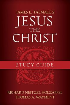 "Finally, the perfect accompaniment to Talmage's highly praised book about the Savior, ""Jesus the Christ"". This new study guide helps you get more our of your reading and study, and is available now at Deseret Book!"