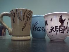 Day #16 Make something for your boo today. Here's an easy personalized mug project that you can start with. #love