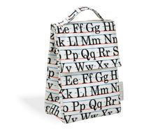 Alphabet Lunch Sack | Porter Square Books, $16.00