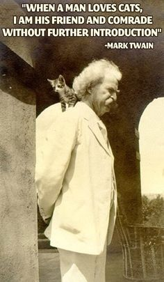 Mark Twain gets it. This must be why we're all friends... @Margot D.S. @zaria Torres
