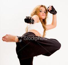 i didn't get my black belt for nothing    Karate Girl