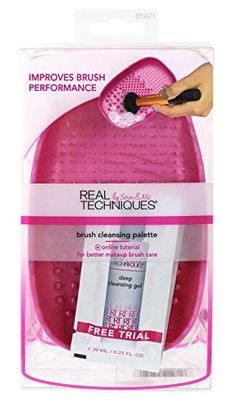 Real Techniques Brush Cleansing Palette 032 Ounce *** Find out more about the great product at the image link.