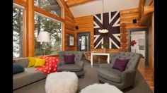 Modern Log Cabin Decor Remarkable Beyond The Aisle: Home Envy: Log Cabin Interiors, modern log cabin decor, modern log cabin decorating, modern log cabin decorating ideas. Added by Admin on September 2016 at Inspire Home Design Log Cabin Decor, Home Interior Design, Rustic Living Room, Log Home Designs, Cabin Interior Design, Log Home Interior, Modern Cabin, Log Cabin Interior, Cabin Interiors