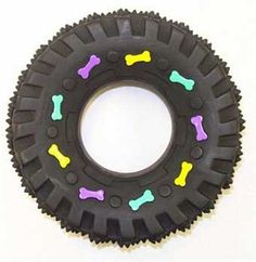 Ethical Squeaky Vinyl Tire Dog Toy 312Inch ** Learn more by visiting the image link.Note:It is affiliate link to Amazon. #bored