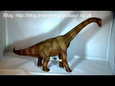 A review of the Schleich World of History Brachiosaurus dinosaur model by Everything Dinosaur.