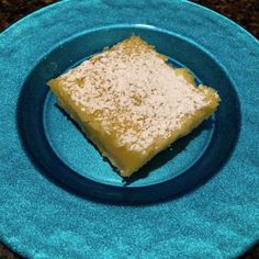 I've been searching for the perfect lemon bar, for my husband. After a trip to the Pioneer Woman's Mercantile and a quick Google search, I found it!