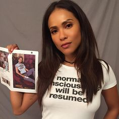 For the fans. For the comic nerds. I will always try and do right by you. #mazikeen @luciferonfox  Normal consciousness will be resumed. @dccomics