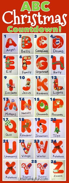 Little Family Fun: Christmas ABC's