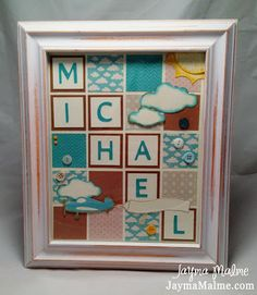 Splendid Stamp set Playing with Paper: CTMH Scrapbooks, Cards & DIY