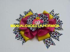 Lazos- Moños para el cabello infantiles /, Moños fáciles cinta/Ribbon Ha...
