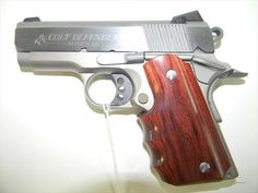 Colt 1911 Defender. I like it.