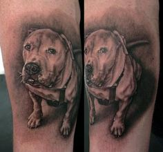 When it comes to selecting a new tattoo, animal tattoos have always been a widely popular choice. Find this collection of 100 awesome animal tattoos. Off The Map Tattoo, Back Tattoo, Dog Tattoos, Animal Tattoos, Dog Portrait Tattoo, Paradise Tattoo, Dog Portraits, Traditional Tattoo, Drawings