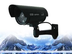 DUM-501B LTS Blinking Red LED Dummy Security Camera – Mammoth Technologies
