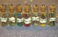 Choose Your Own Magical Color Wand Necklace Disney Fairy Godmother on Etsy, $18.00