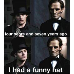 I laughed too hard at this. #Supernatural #Funny #DeanShenanigans