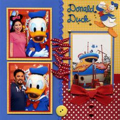 Silly Bees Chickadees Gallery: Donald Right Page