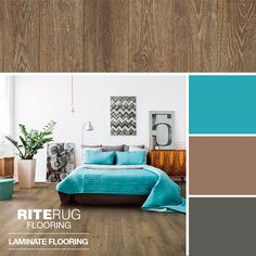 Inspiration can start from the floor up with a gorgeous laminate hardwood flooring. Laminate Hardwood Flooring, Diy Flooring, Oak Stain, Floor Colors, Wide Plank, Color Swatches, Color Pop, Decor Ideas, Living Room