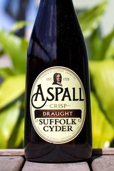 British-made dry Aspall cider calls out for London pub food.