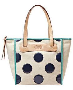 Fossil Handbag, Key-Per Shopper - Fossil - Handbags & Accessories - Macy's