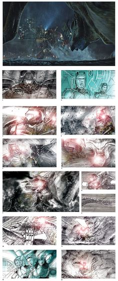 DGAQFall2015DrawingBoardPacificRim.ashx 750×1,784 pixels Famous Movies, Storyboard, Storytelling, Draw, Abstract, Artwork, Image, To Draw, Work Of Art
