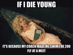 To all swimmers