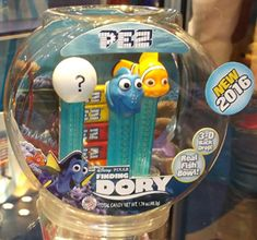 Finding Dory Pez Gift Set with Fish Bowl