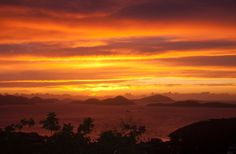 St John, US Virgin Islands sunset. Frank Johnson photo.