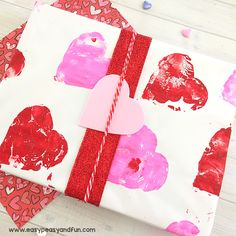 Your kids have made some wonderful DIY Valentines gifts and now it's time to wrap them. Why not let them make their very ownValentines Day wrapping paper and take the gift to a whole new level. This DIY wrapping paper will be great both for wrapping gifts (you can use it for all holidays really) …