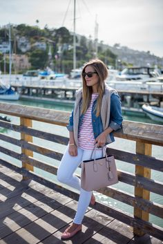 Pink Stripes - Gal Meets Glam