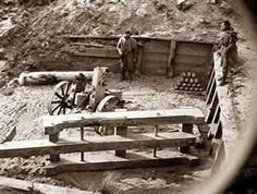soldiers in trenches civil war