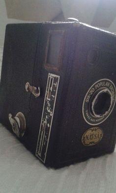 Vanha kamera kirppis-löytö