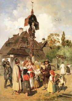 Koncert dudziarza, Antoni Kozakiewicz, 1876