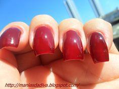 Diva, unhas, esmaltes. Nail polish, nails,