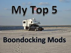 Boondocking mods