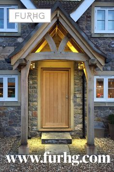 We build all our oak porch kits to size and spec. Get in touch with us to discuss your design and measurements