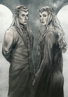 Haldir and Galadriel