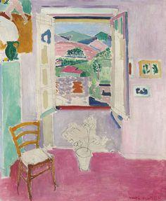 Henri Matisse.  La Fenetre Ouverte, 1911.
