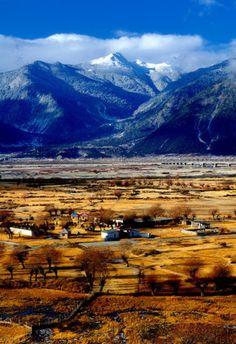 Tibet in autumn